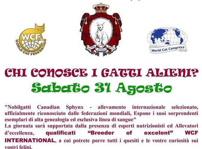 Alien's day by Nobilgatti Palmanova (Udine) 31-08-2013