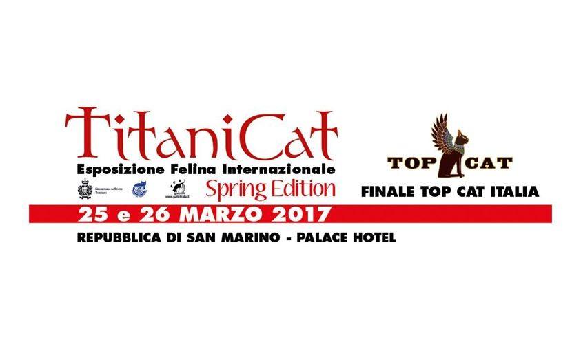 Titanicat Esposizione Felina internazionale Nobilgatti